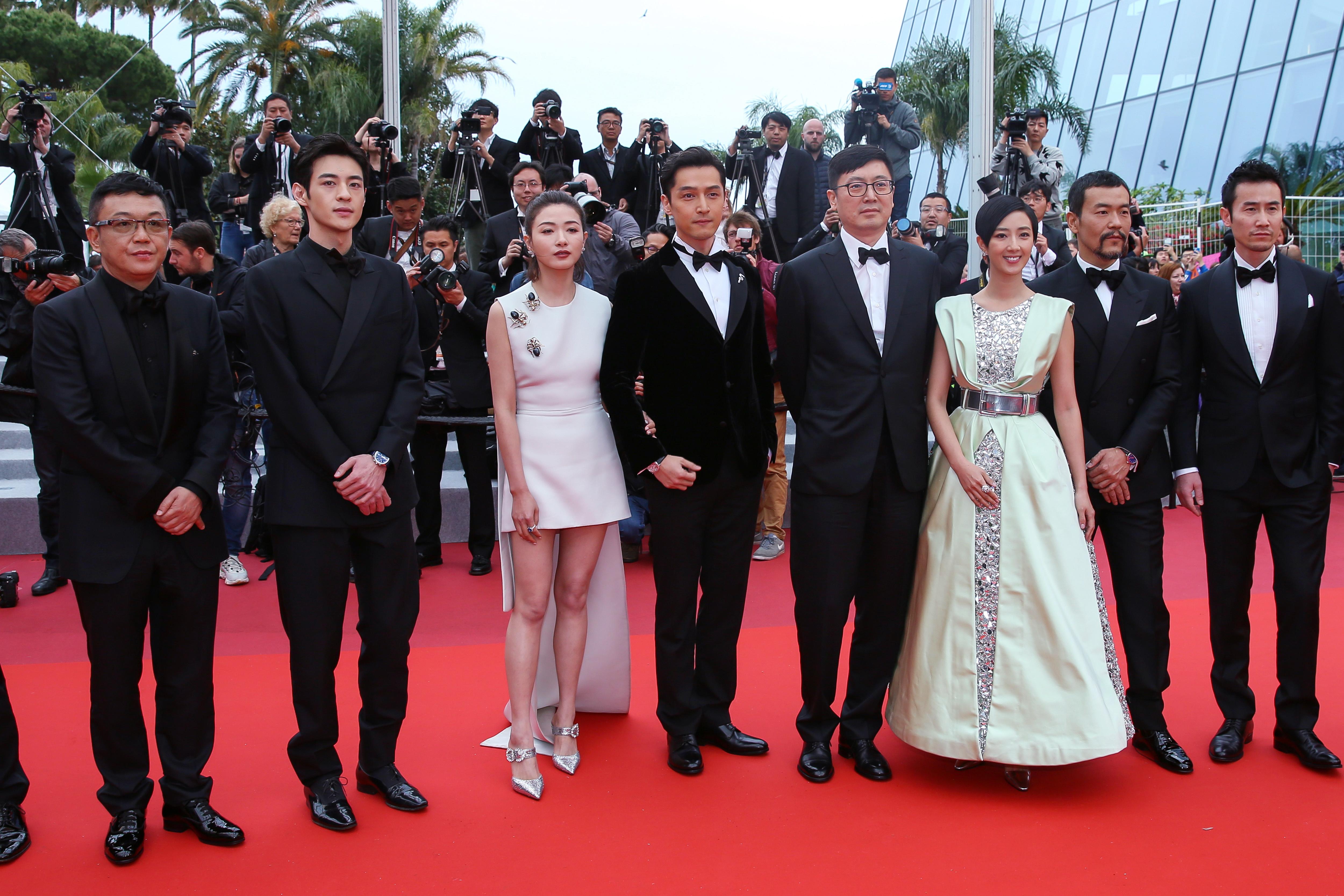 戛纳电影节:中国影片《南方车站的聚会》首映