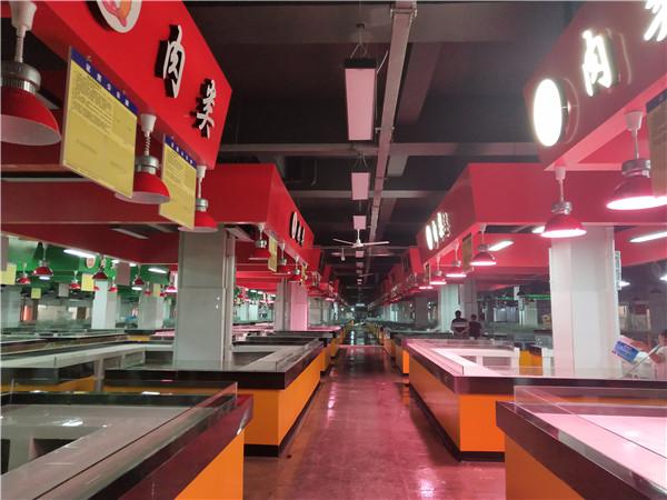 八角塘农贸市场改造后今起正式营业