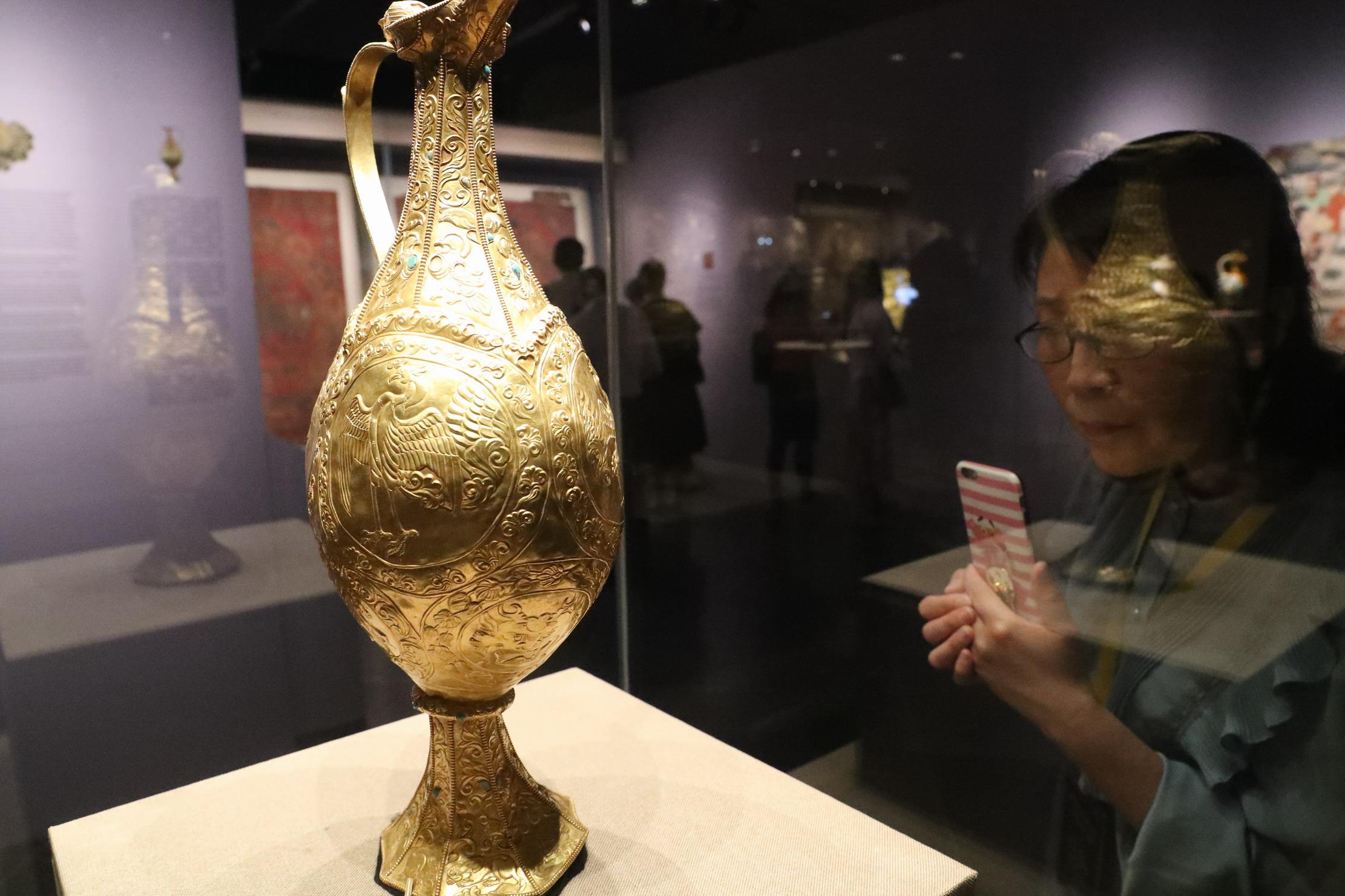 吐蕃艺术珍品大展在敦煌举办