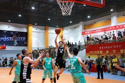 四县篮球赛开赛
