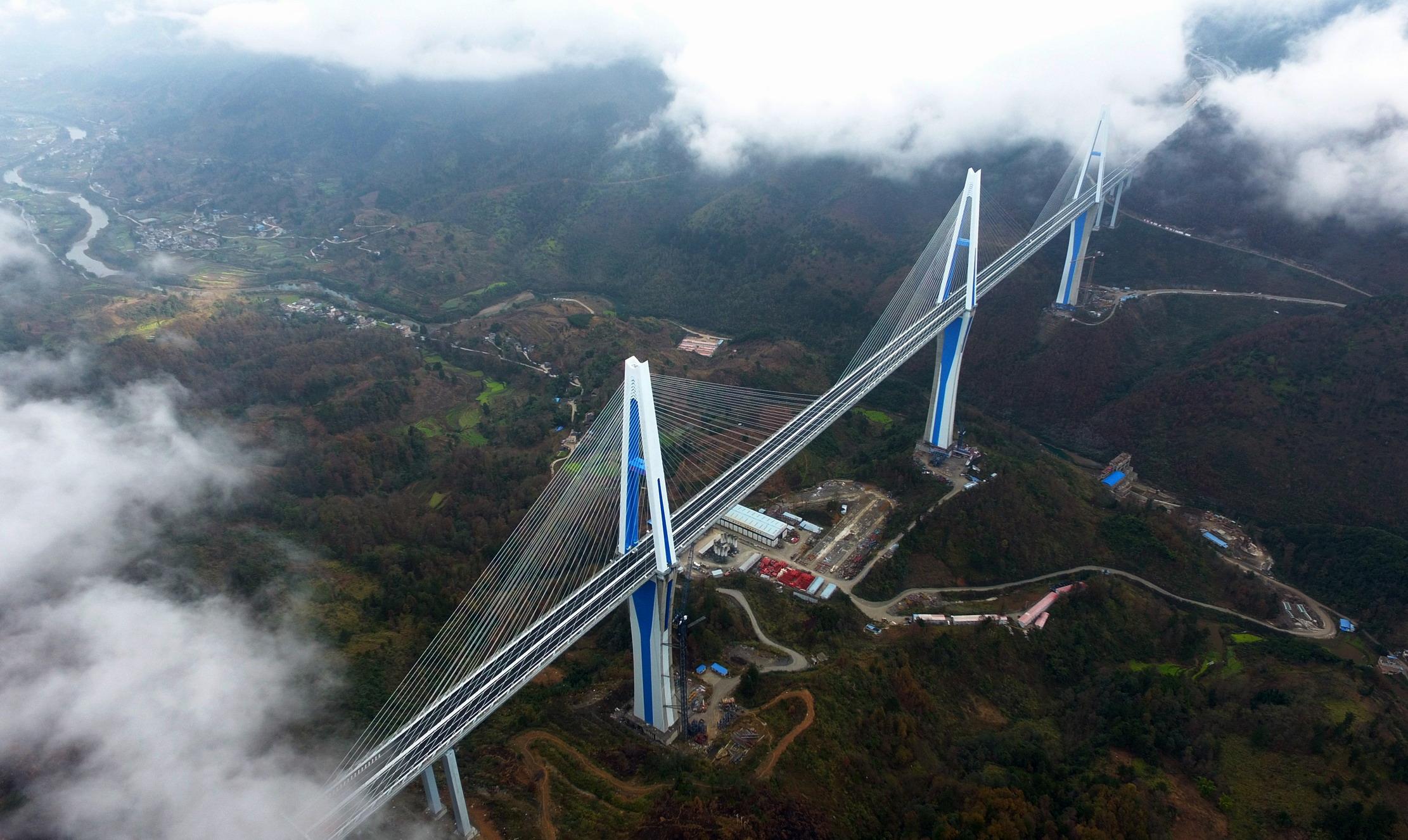 贵州平塘特大桥宣布建成通车