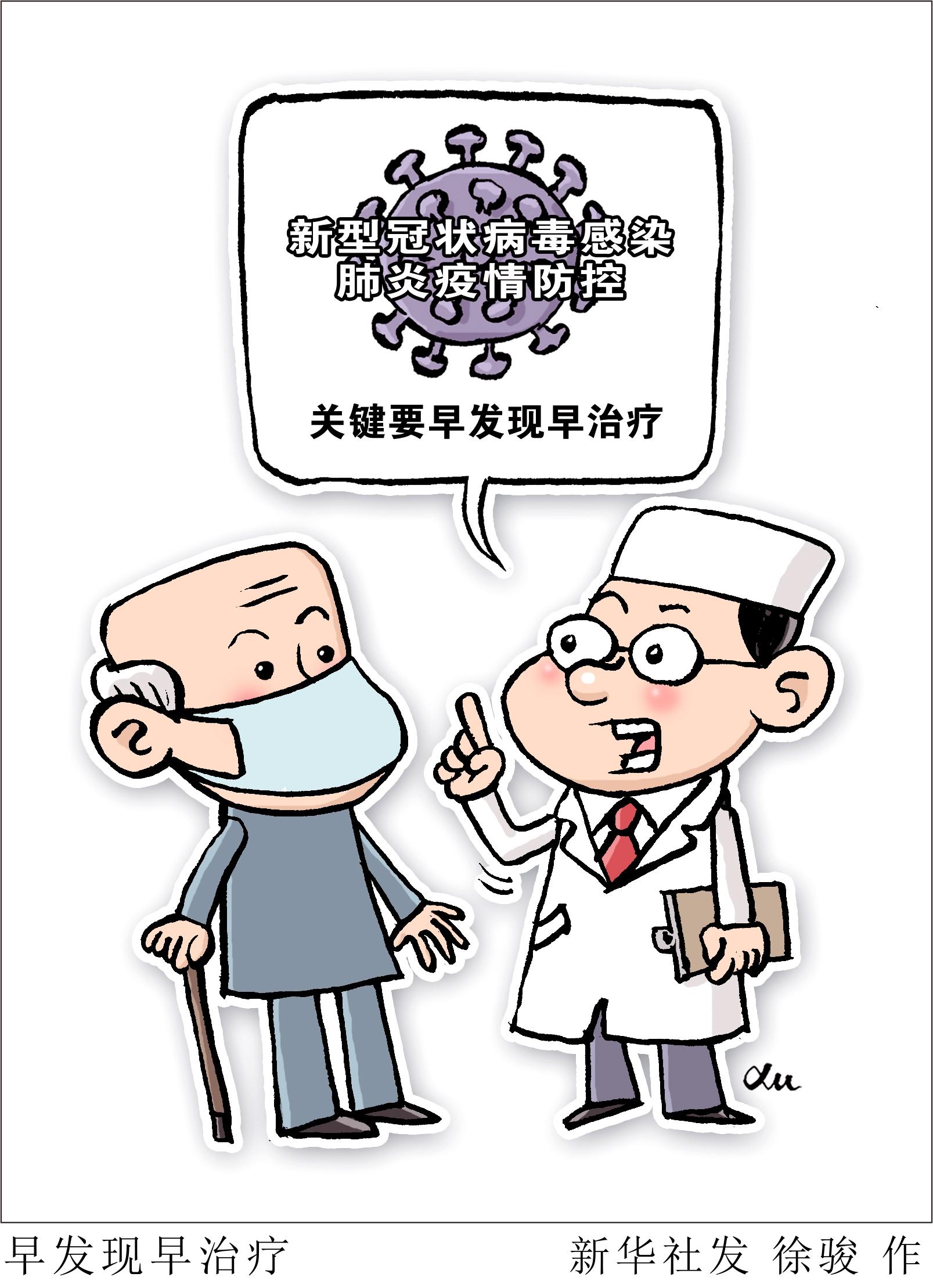 漫画:早发现早治疗