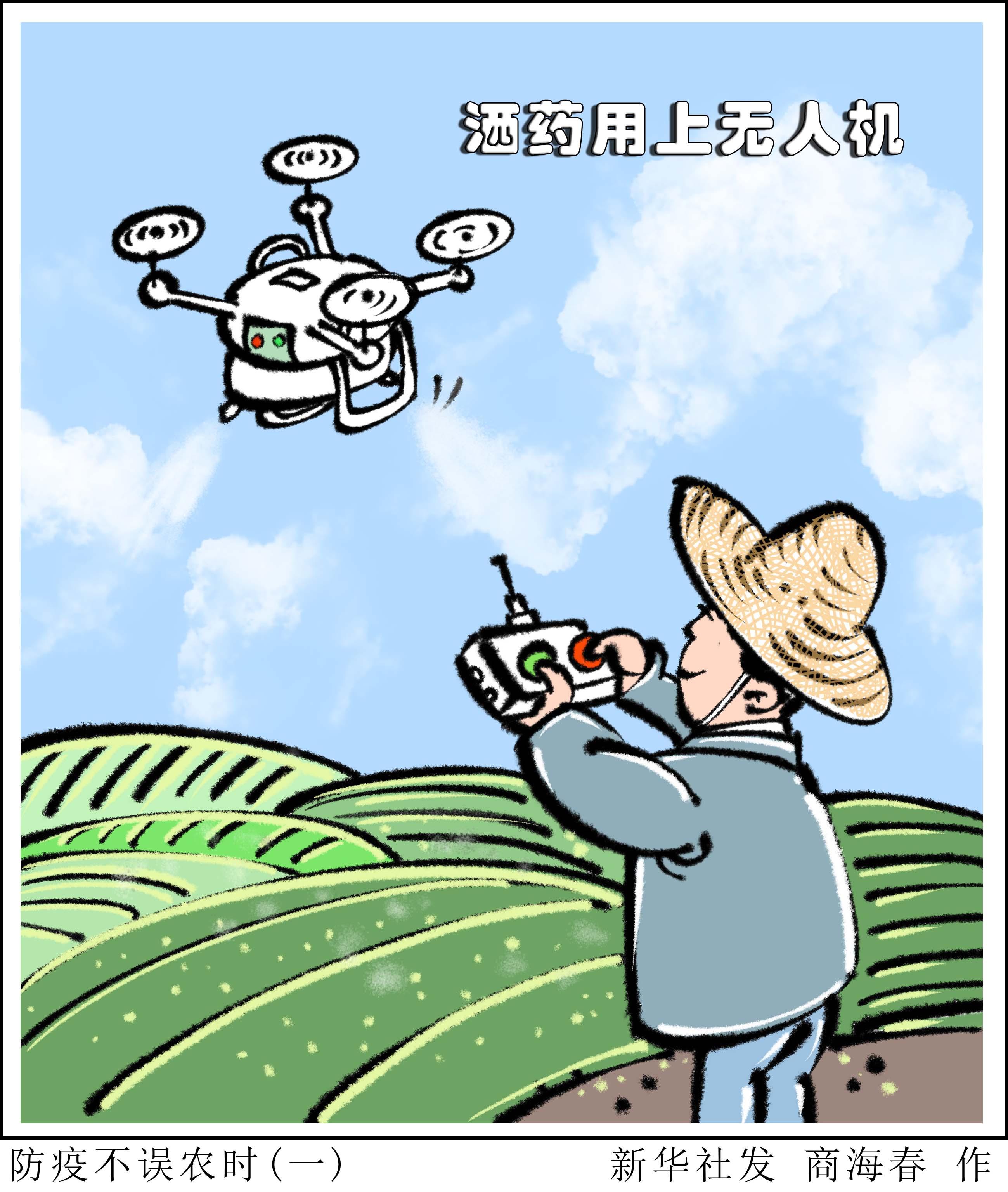 漫画:防疫不误农时