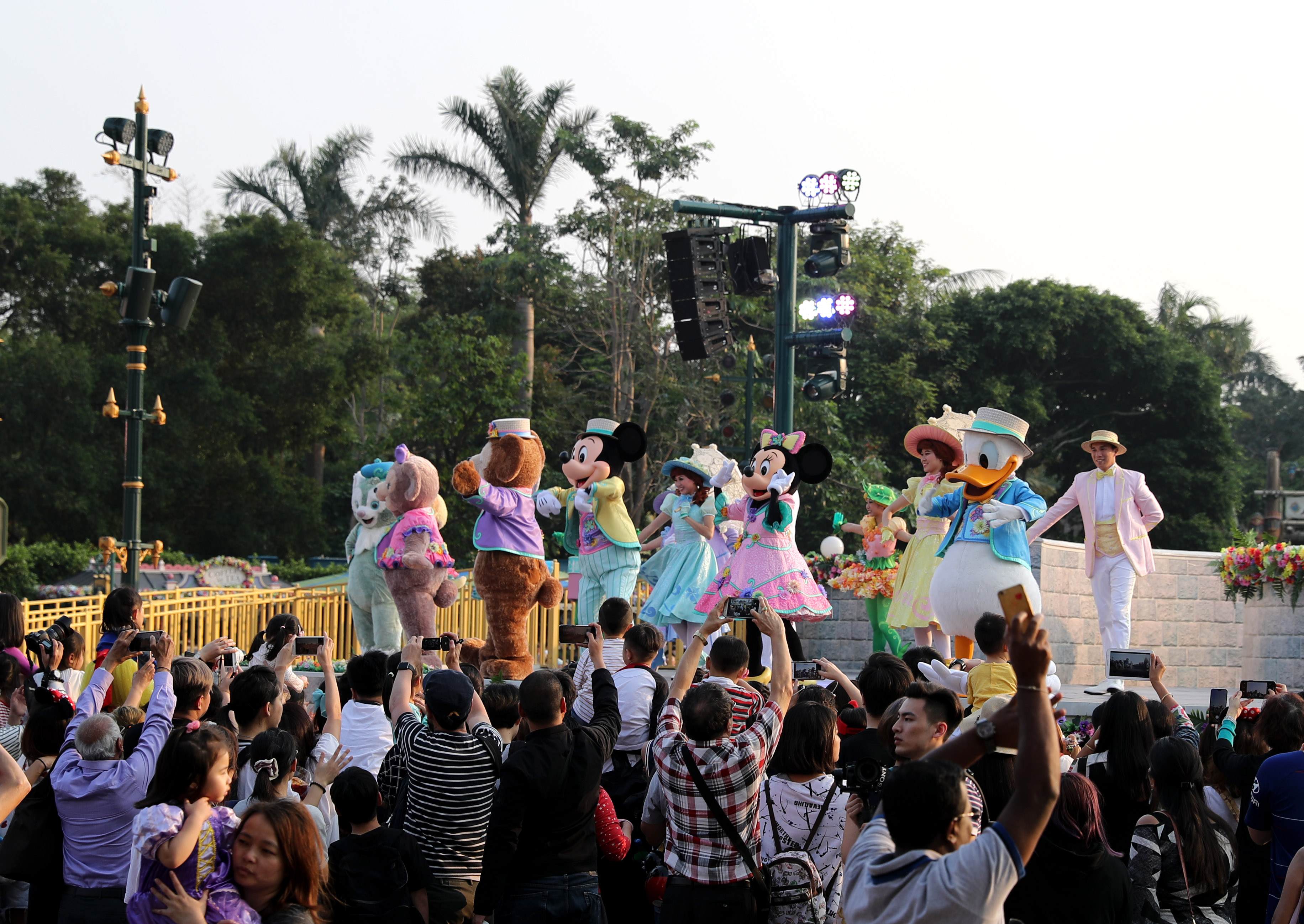 香港迪士尼2019财政年度净亏损达1.05亿港元