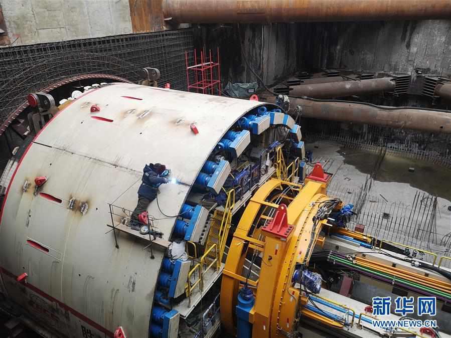 """""""大国重器""""亮相莫斯科——中国11米级大盾构机在俄始发记"""