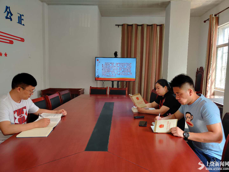 余干司法局东塘司法所掀起学习宣传贯彻《社区矫正法》热潮