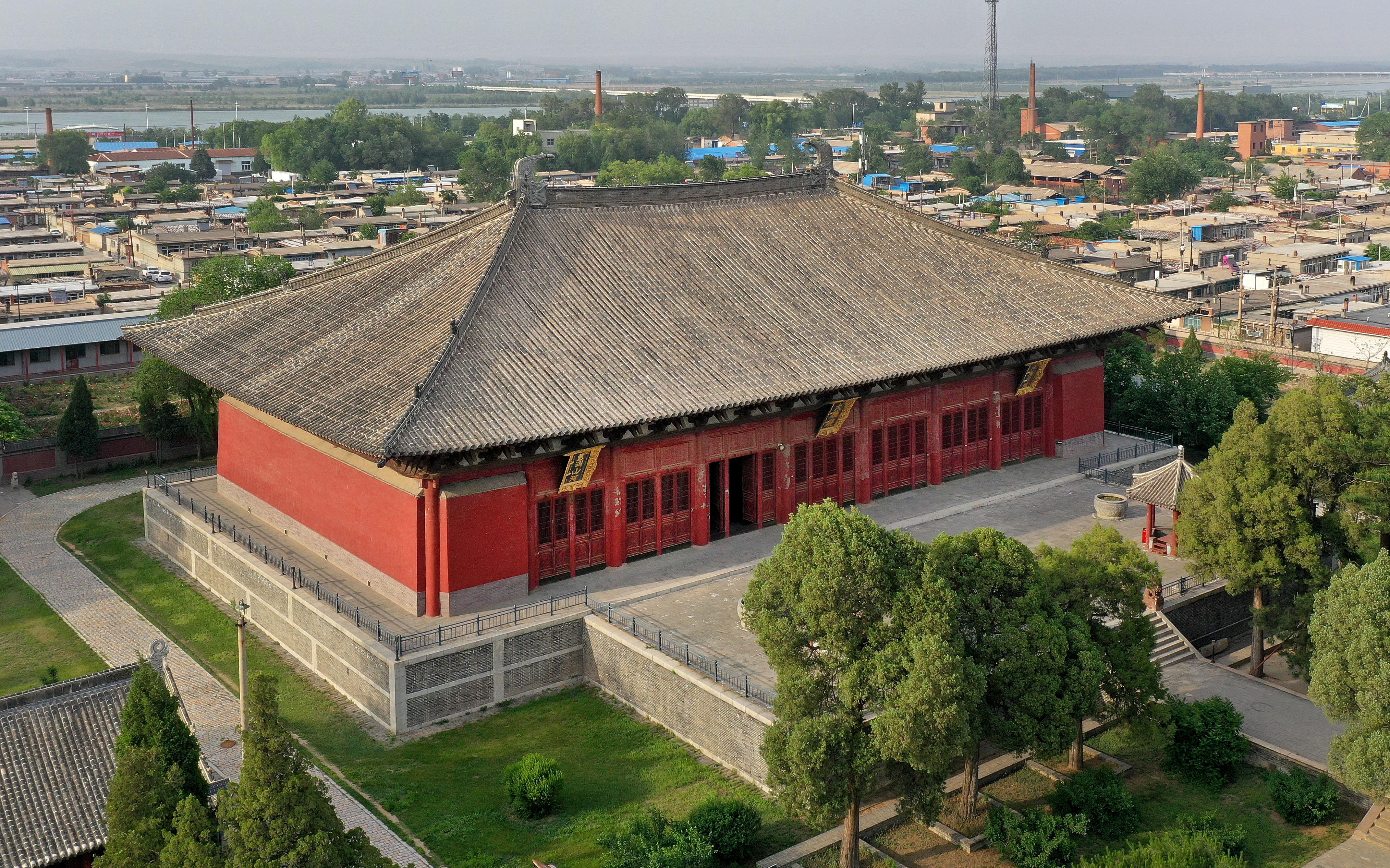 千年奉国寺进行一期保护修复