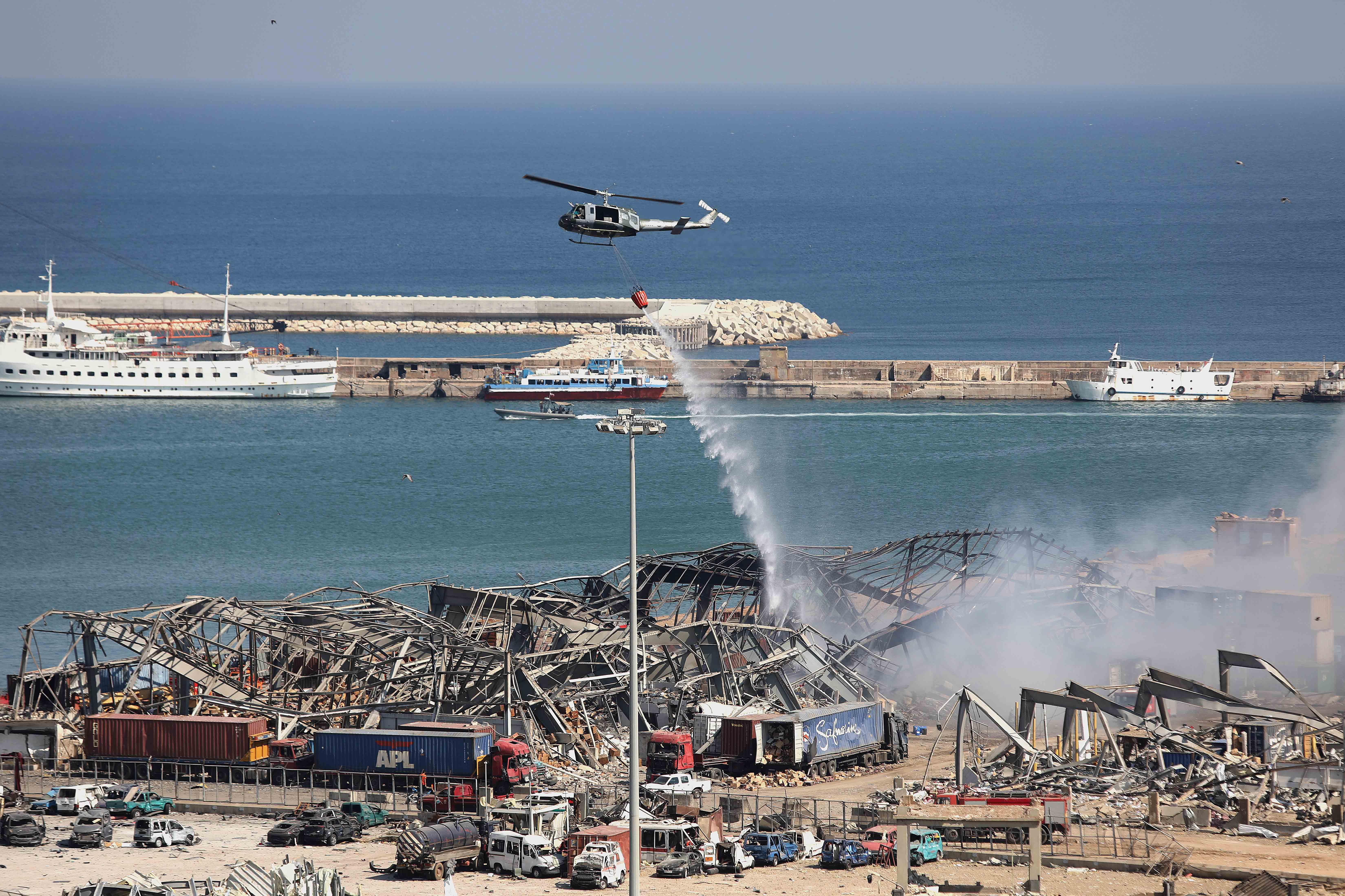 黎巴嫩贝鲁特:爆炸过后