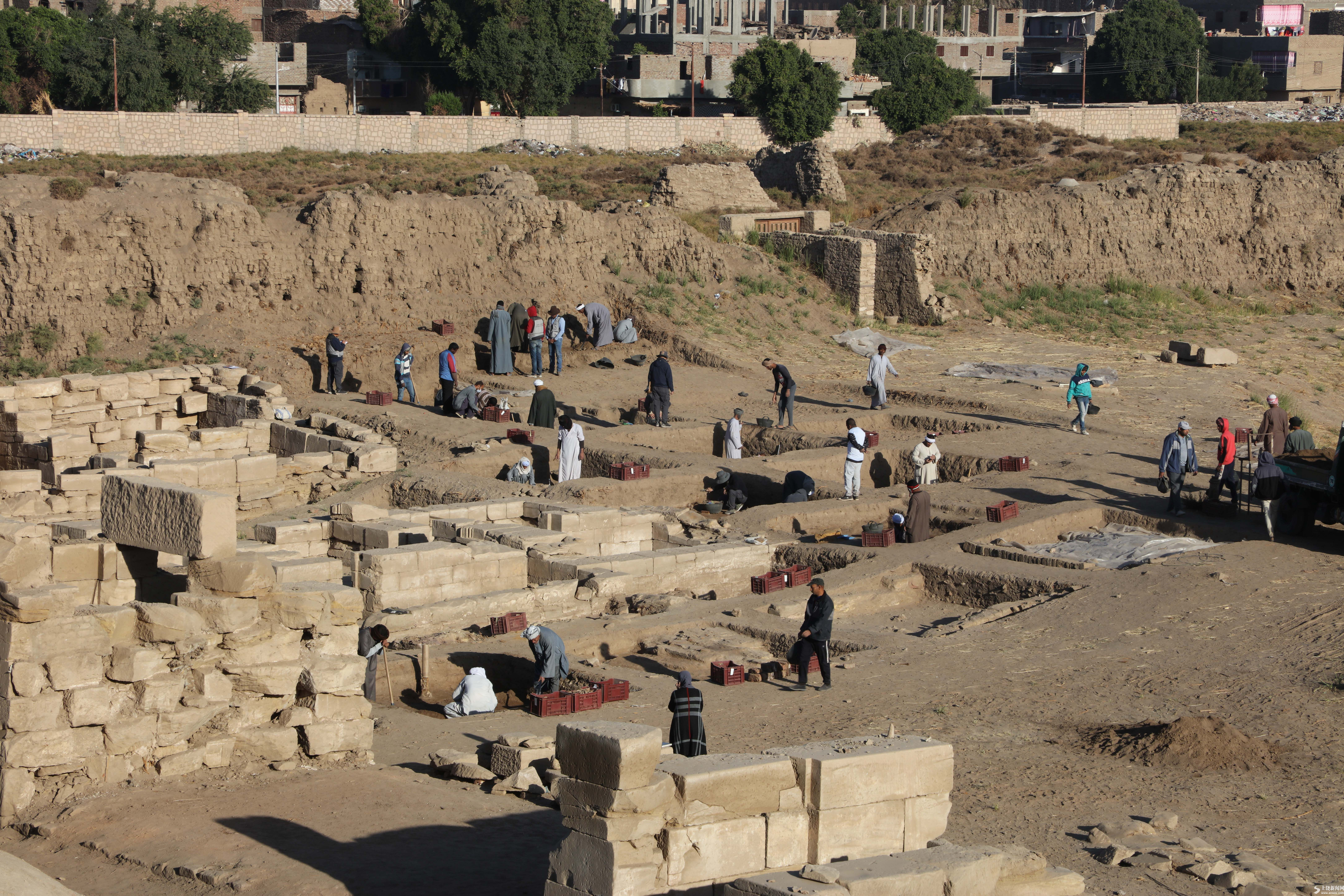 疫中考古——中国与埃及首次联合考古取得阶段性成果