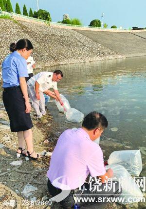 增殖放流3万尾鱼苗 玉山多部门守护三清湖生态