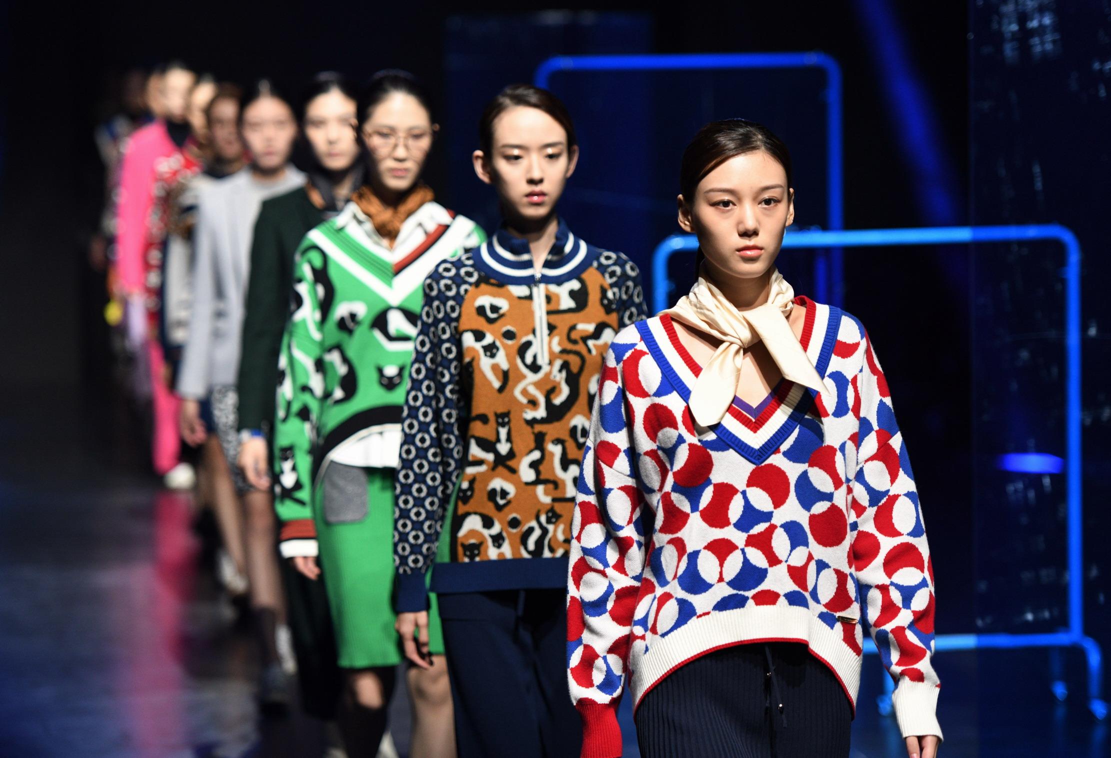 """第20届中国(青岛)国际时装周——""""Lou de Nannan""""秋冬时装"""
