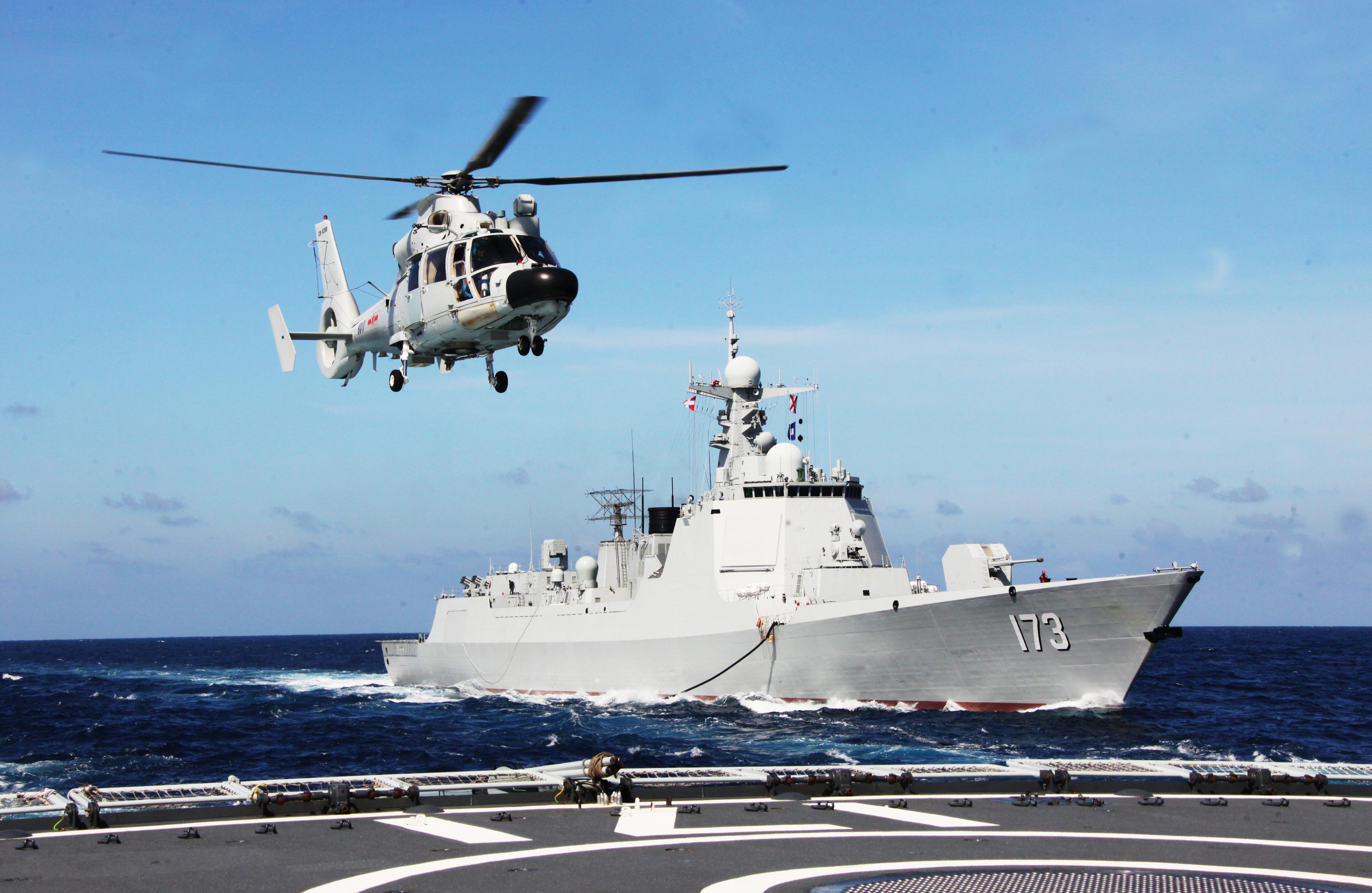 海军长沙舰:向着梦想全速前进