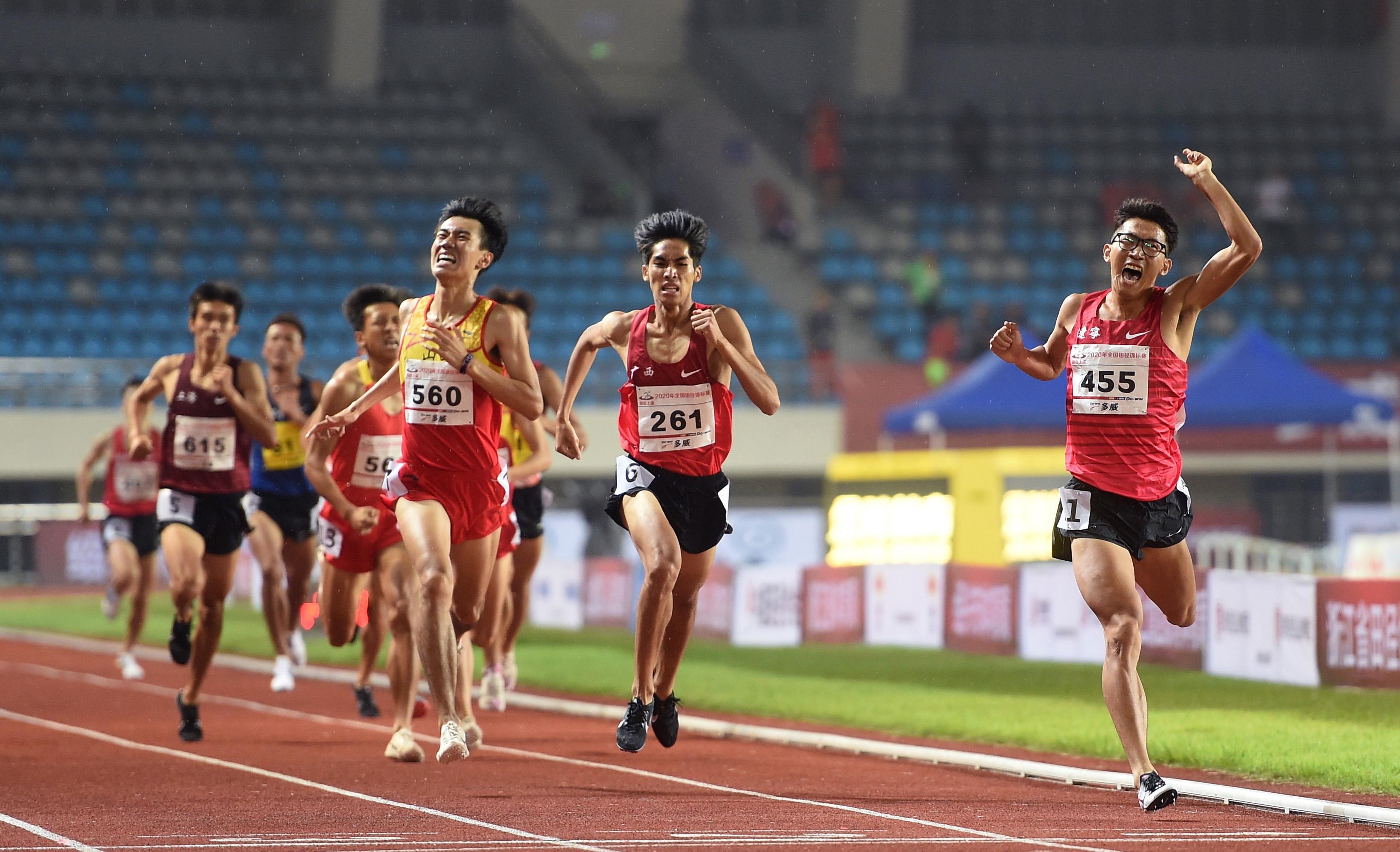全国锦标赛:男子1500米决赛赛况