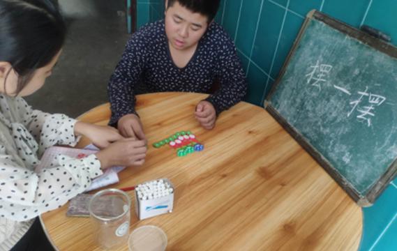 广信区花厅镇前程小学开展爱心送教活动