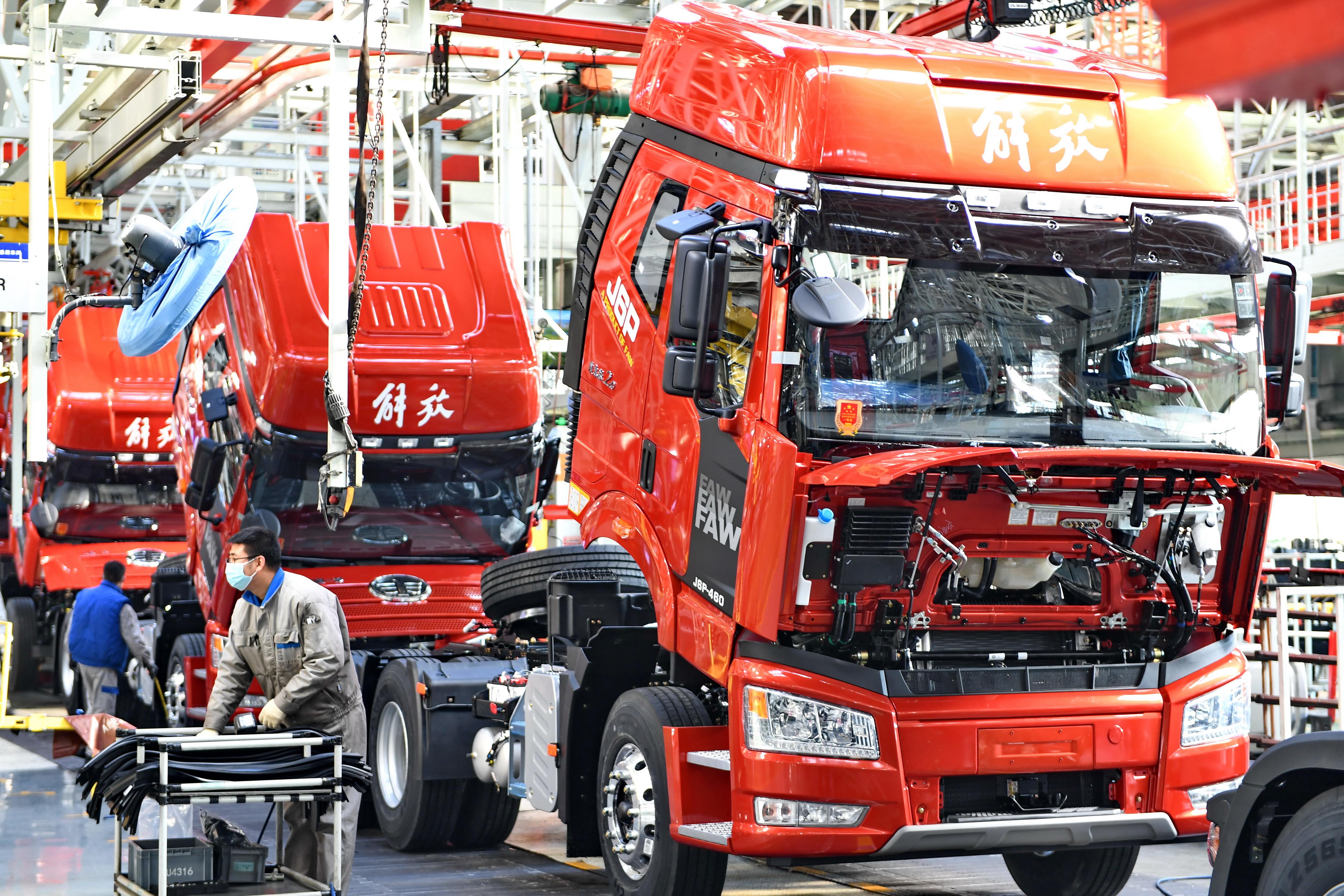 中国一汽2020年营收6950亿元 同比增长12.5%