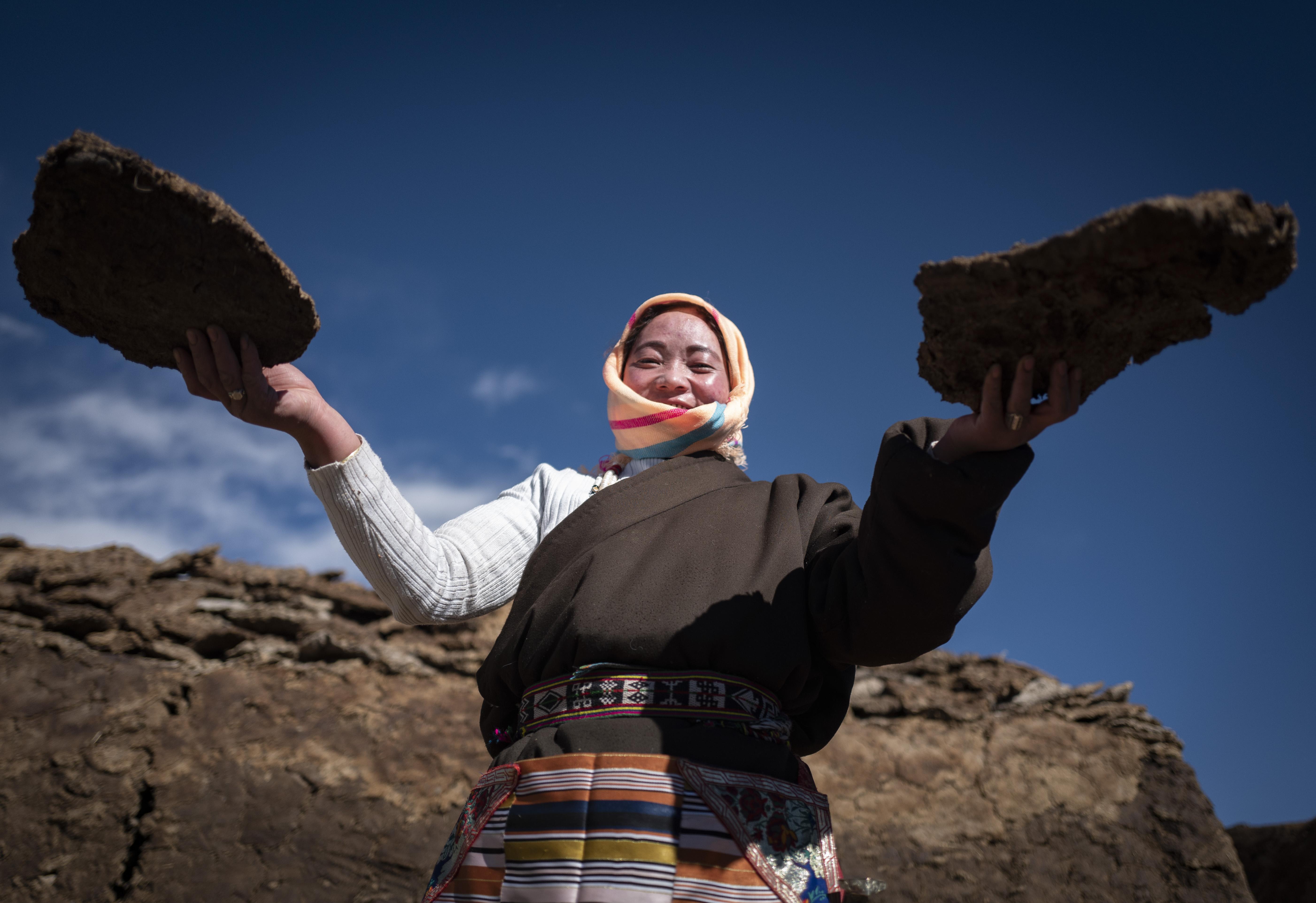冬季藏北高原牧民生活