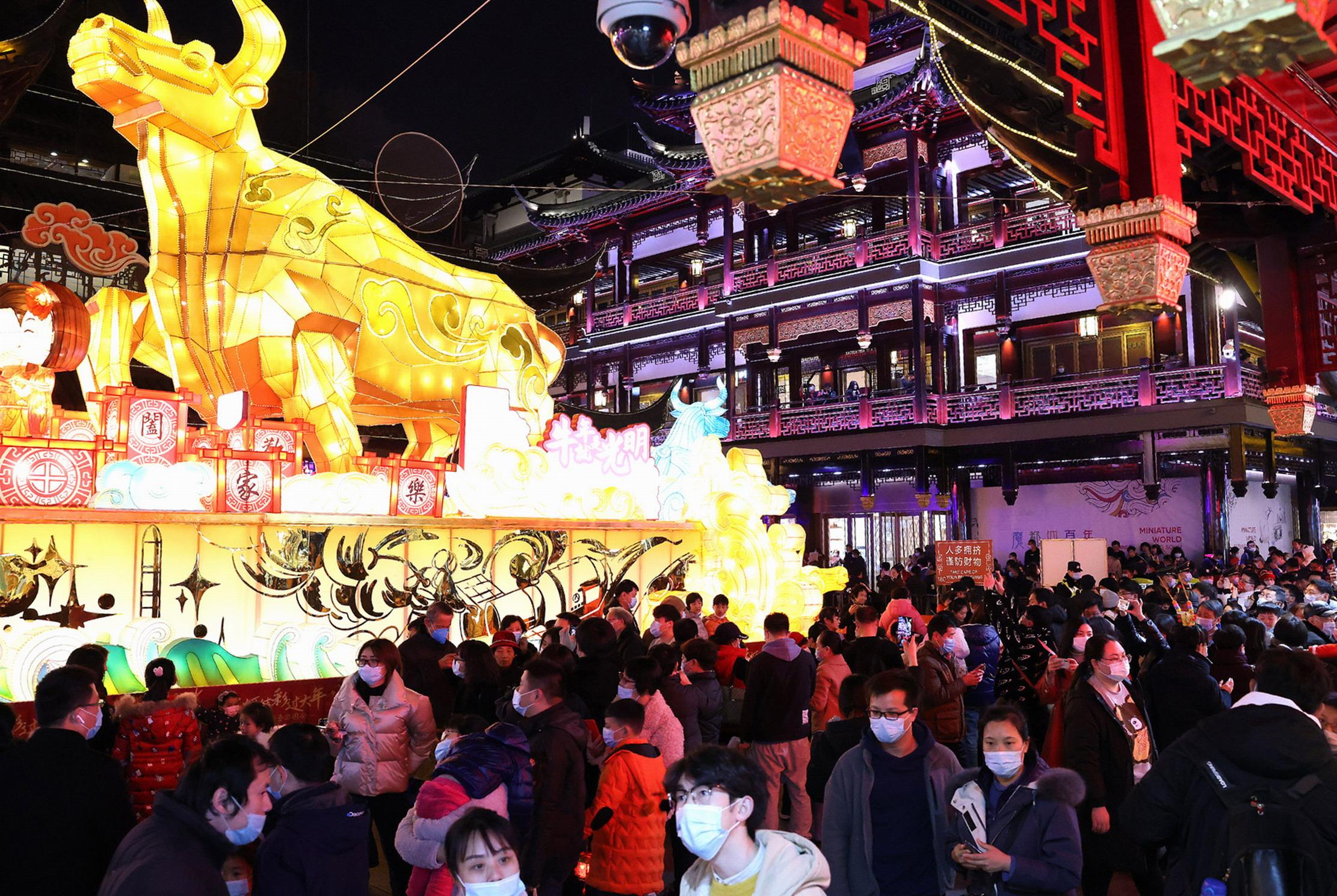 春节期间上海实现旅游收入56.65亿元