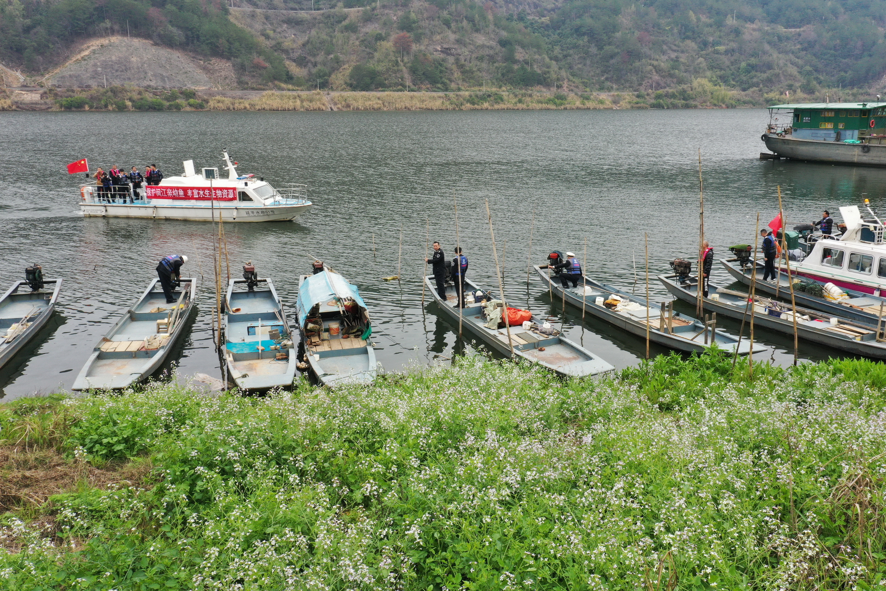 福建省闽江流域启动为期4个月的禁渔期