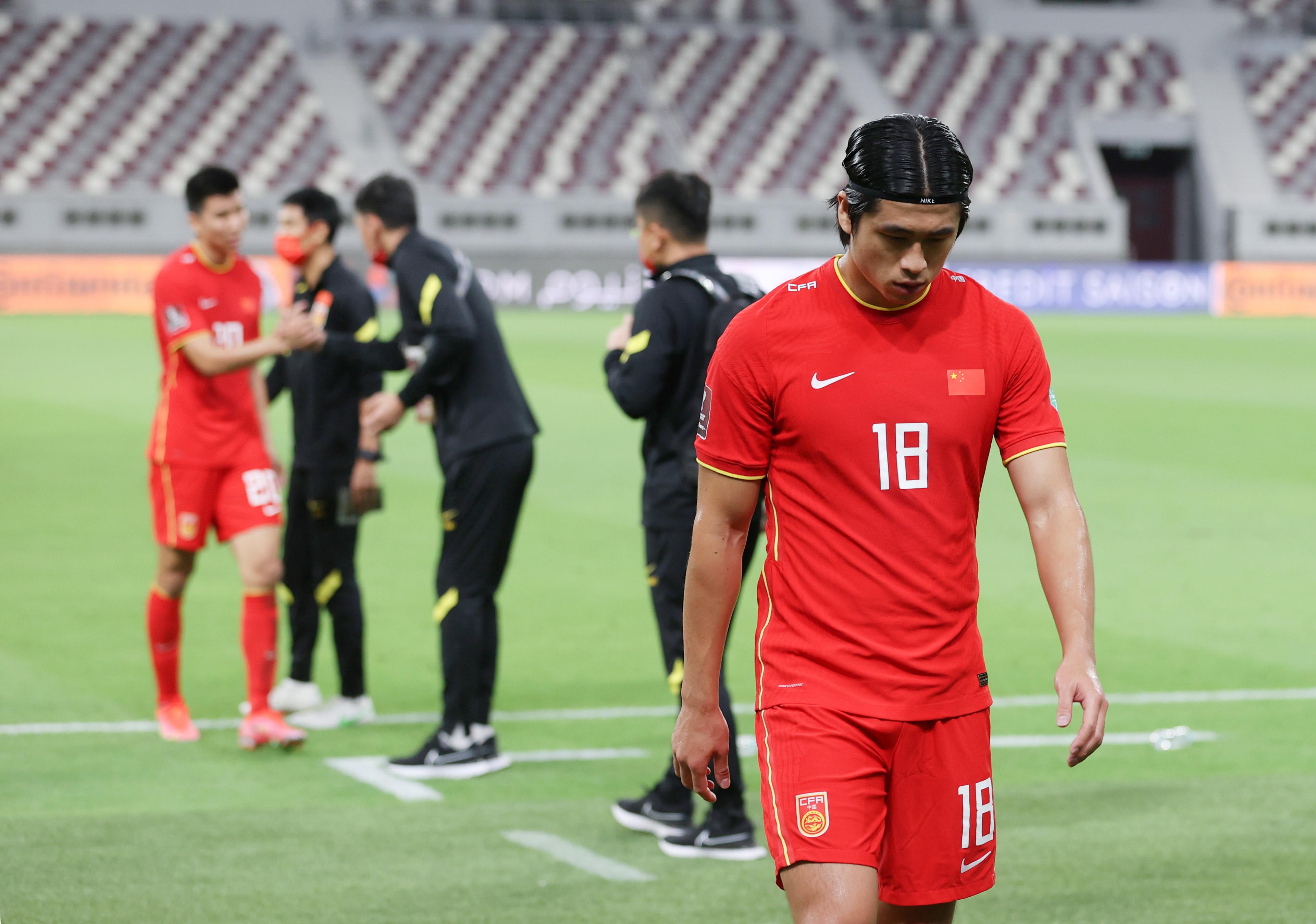世预赛亚洲区12强赛:中国队负于澳大利亚队
